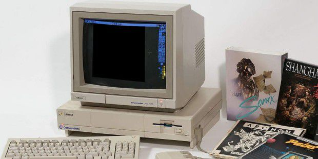 Amiga 1000: Vor 30 Jahren brachte Commodore den Star der Heim-Computer (c) Wikipedia/Kaiiv unter der Lizenz Creative Commons Attribution/Share Alike