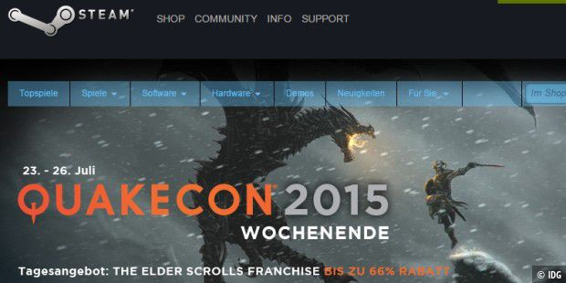 Quakecon - Steam Sale