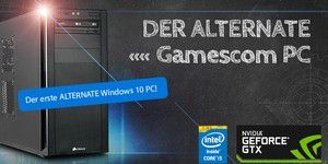 Der ALTERNATE Gamescom 2K15 PC