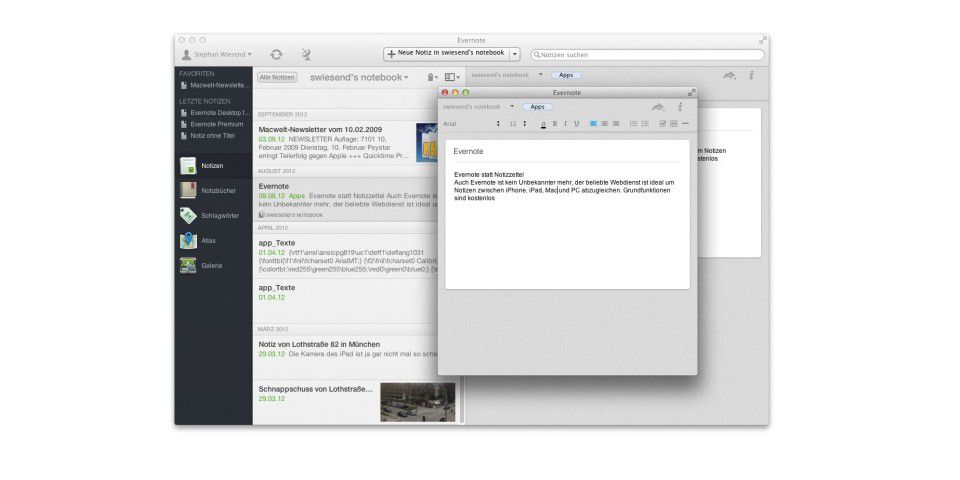 Evernote Desktop