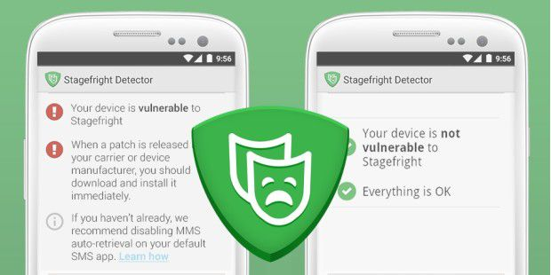 Stagefright Detector für Android