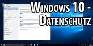 Video: Windows 10 - Datensammelwut stoppen