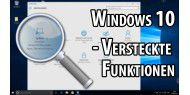Video: Windows 10 - Versteckte Funktionen