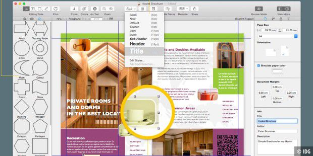 Indesign-Ersatz Swift Publisher 4 mit neuen Tools