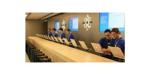 Genius Bar in einem Apple Store