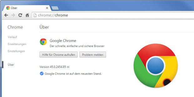 Chrome 45, Googles nächste Browser-Generation