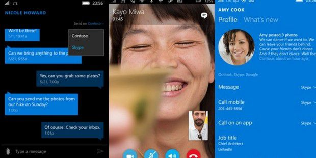 Messaging Skype Beta für Windows 10 Mobile-Tester verfügbar
