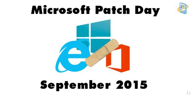 Patch Day September 2015