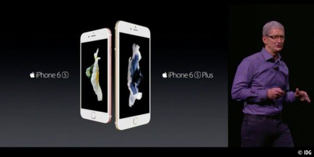 iPhone 6 S und 6S Plus