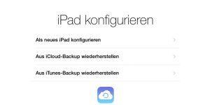 Vor dem iOS 9: Backup-Strategien