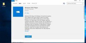 Windows 10: DVD-Player-App macht Probleme - Lösungen