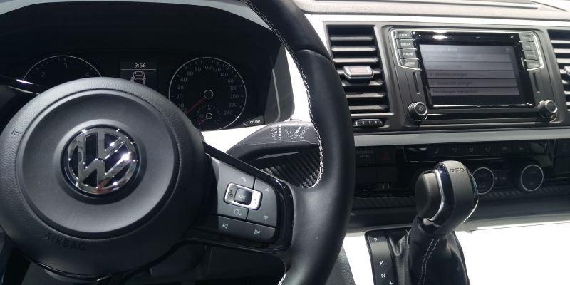 Darum hat der VW Multivan T6 ein kleineres Display als der ...