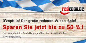 O'zapft is - Wiesn Sale bei redcoon.de