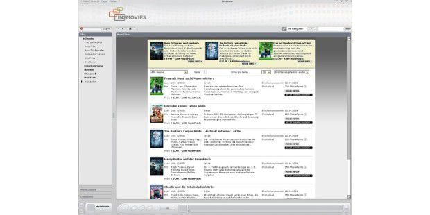 Video-Download-Portal In2movies gestartet