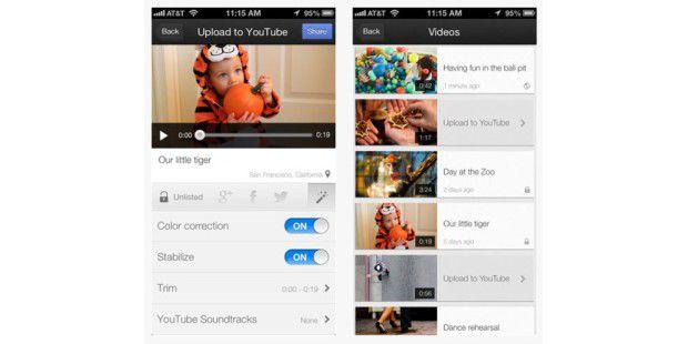 YouTube Capture nimmt Videos auf und teilt diese in sozialen Netzwerken