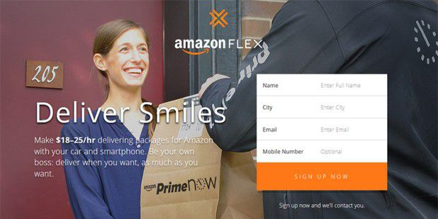 Amazon Flex startet in Seattle