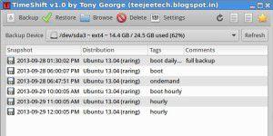 Timeshift: Backups von Systemdateien in Linux anlegen