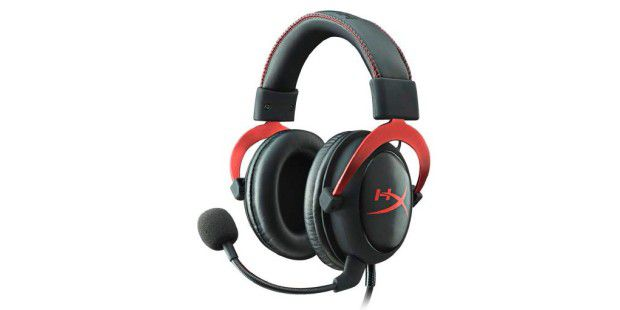 Der Kopfhörer Kingston HyperX Cloud II