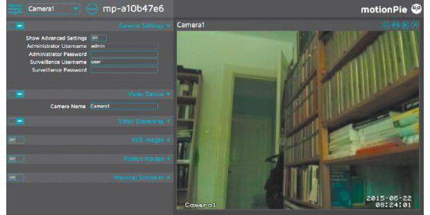 Raspberry Pi: Kamera zur Heim-Überwachung nutzen