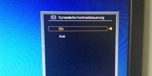 Dynamischer Kontrast bei Monitoren