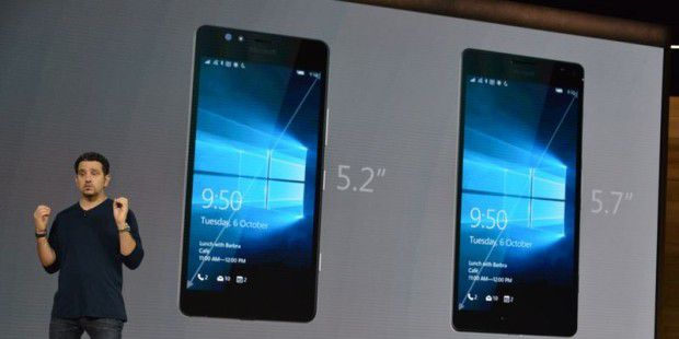 Lumia 950 und 950L: Neue Windows-Phones
