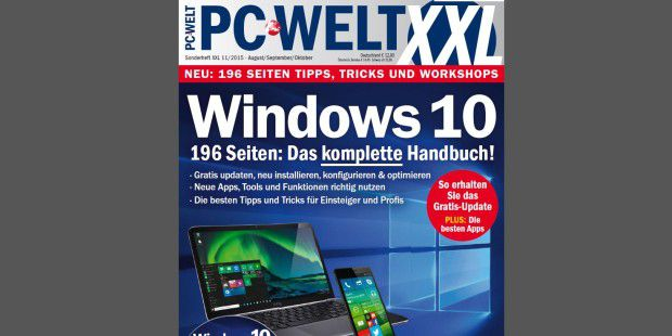 Gratis: PC-WELT-XXL- Sonderheft zu Windows 10