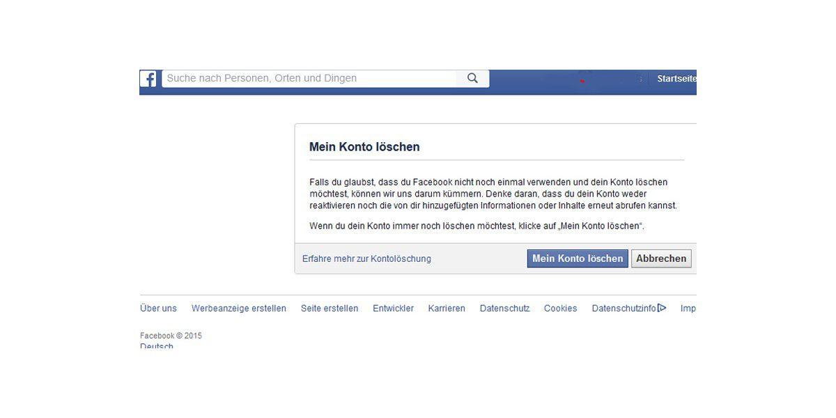 Facebook sicher einrichten chip