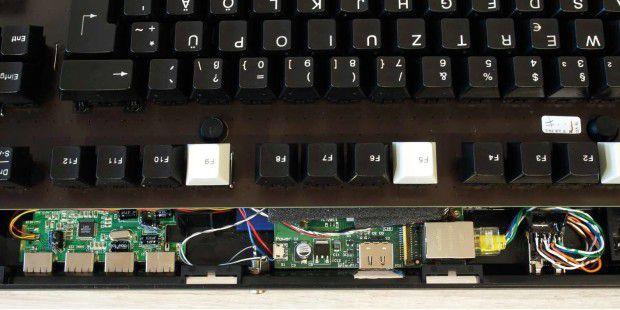 C64 reloaded: Raspberry Pi in die Tastatur einbauen