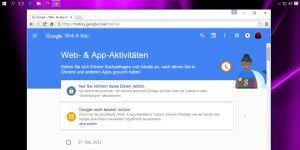 So löschen Sie Ihre Web- & App-Spuren bei Google