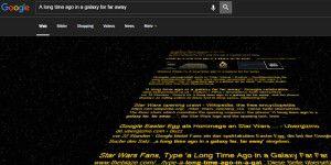 Star Wars: Easter Egg in Google Suche entdeckt