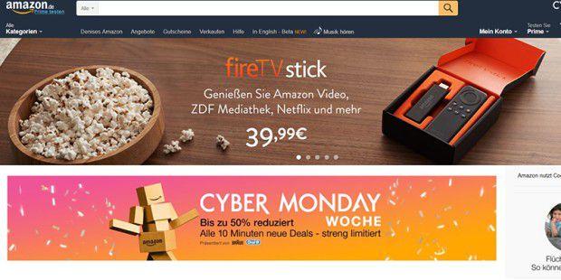 Amazon setzt Kundenpasswörter zurück