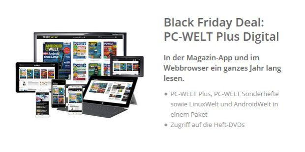 pc welt plus digital das abo zum spar preis pc welt. Black Bedroom Furniture Sets. Home Design Ideas