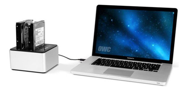OWC Drive Dock: Festplatten im Betrieb tauschen