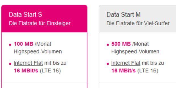 Telekom stellt neue mobile Internet-Flatrates vor