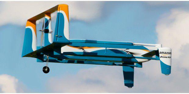 Amazon-Drohne: Neue Infos, Bilder und Video