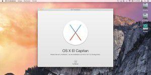 OS X 10.11 El Capitan richtig installieren