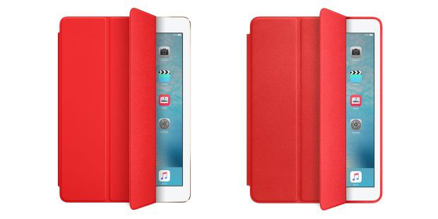 Das iPad Air bekommt ein RED-Smart Cover, das iPad Air 2 ein RED-Smart Case.