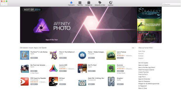 Apps aus dem Mac App Store krallen sich nicht so hartnäckig fest, andere schon