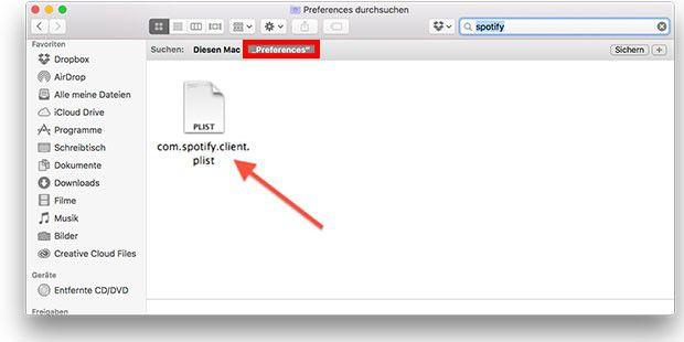 Sind zu viele Programme auf dem Mac installiert, wird der Ordner oft unübersichtlich. Hier kann man die Spotlight-Suche anwenden.