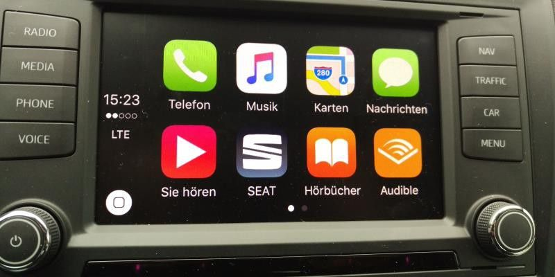 seat full link test carplay android auto und mirrorlink. Black Bedroom Furniture Sets. Home Design Ideas