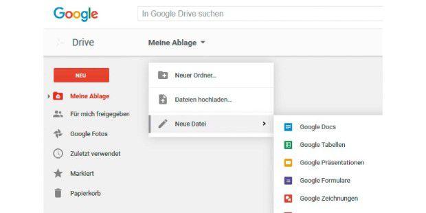 Das gemeinsame Arbeiten an Dokumenten über Google Drive funktioniert über die integrierten Web-applikationen in der Praxis ausgezeichnet.