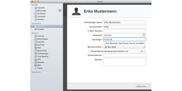 Private Cloud im Eigenbau ? OS X Server installieren