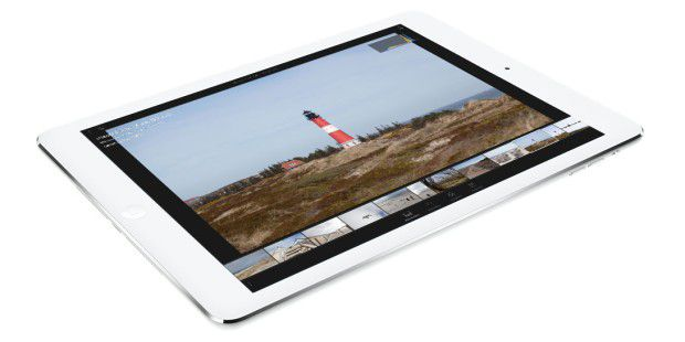 Lightroom mobile auf dem iPad