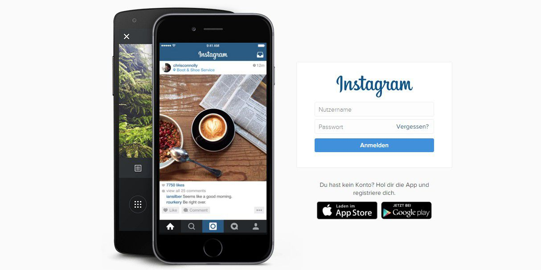 instagram account sichern und l schen pc welt. Black Bedroom Furniture Sets. Home Design Ideas