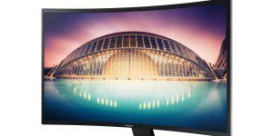 Gewölbter Bildgenuss: Samsung Curved Monitor S32E590C LED