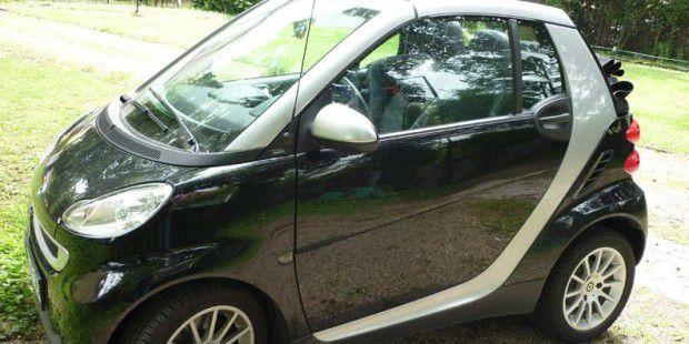Der Fahrer dieses Smart 451 Cabrios hatte Glück: Noch während der gesetzlichen Gewährleistungszeit traten sechs Mängel auf, die Mercedes-Benz alle korrekt beseitigte. Danach wurde der Smart verkauft .- die Frage nach Kulanz stellte sich hier also nicht.
