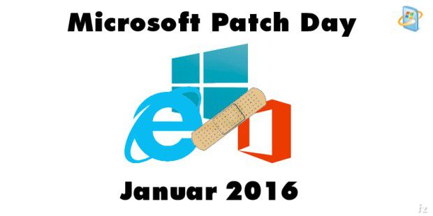 Patch Day Januar 2016