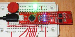 Das Pretzel-Board steuert Licht, Heizung und Roboter