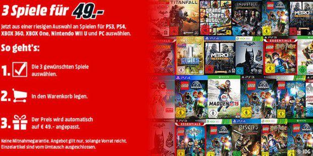 958639f65f 3 Spiele für 49 Euro Aktion bei Media Markt - PC-WELT