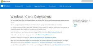 Microsoft: FAQ zur Datensammelwut von Windows 10